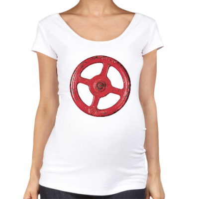 Футболка для беременных Несчастный Случай