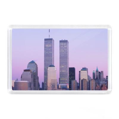 Магнит Нью-Йорк, WTC, Башни