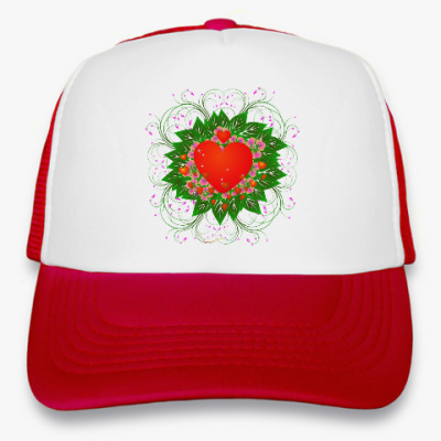 Кепка-тракер Heart Flower