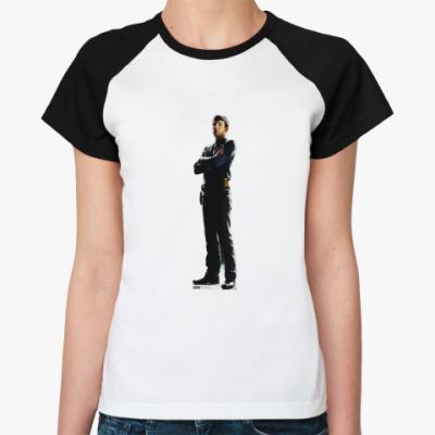 Женская футболка реглан   Spok from ST