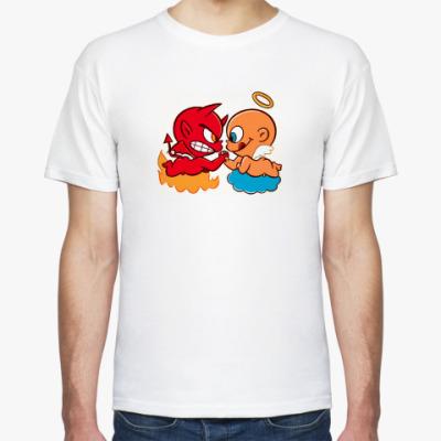 Футболка  футболка Angel&Demon