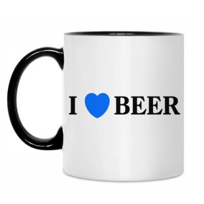 Кружка I love beer