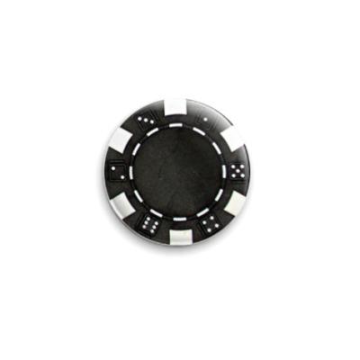 Значок 25мм Black Caps