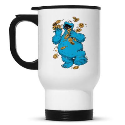 Кружка-термос Cookie Monster