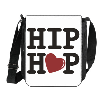 Сумка на плечо (мини-планшет) Люблю хип-хоп