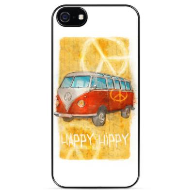 Чехол для iPhone машина хиппи