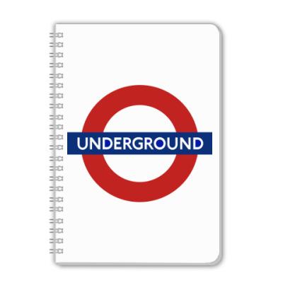 Тетрадь Underground