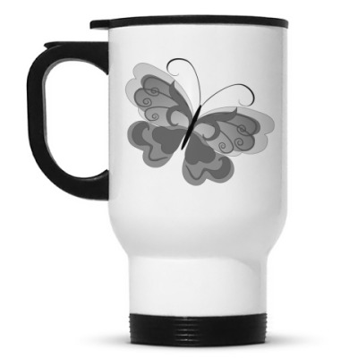 Кружка-термос Бабочка