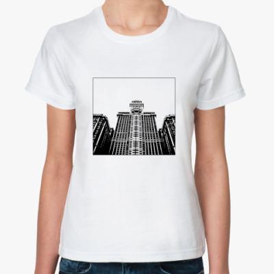 Классическая футболка Здание