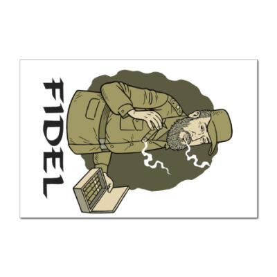 Наклейка (стикер) Fidel