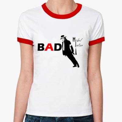 Женская футболка Ringer-T BAD  Ж ()