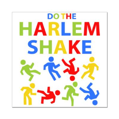 Наклейка (стикер) Harlem Shake