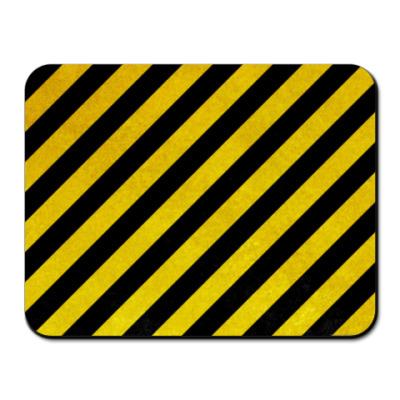Коврик для мыши Hazard stripes