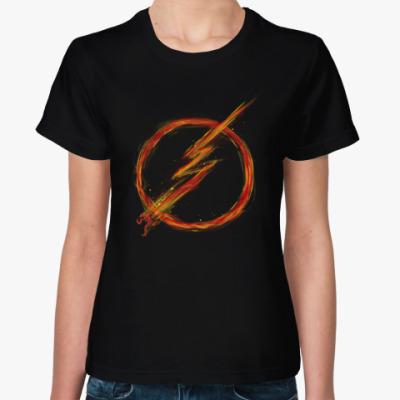 Женская футболка Молниеносная скорость