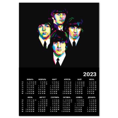 Календарь The Beatles