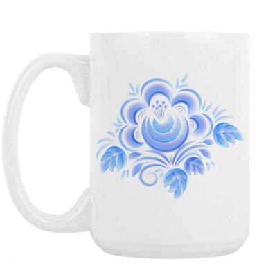 Кружка Цветок Гжель
