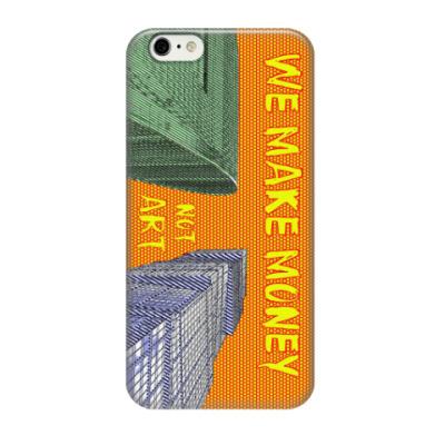 Чехол для iPhone 6/6s WE MAKE MONEY - Москва Сити