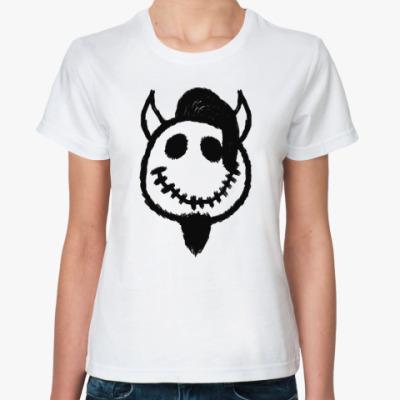 Классическая футболка Чертик