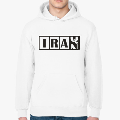 Толстовка худи Иран-Ирак