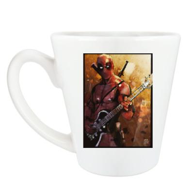 Чашка Латте Hell,yeah! Deadpool