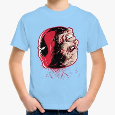 Детская футболка Дэдпул - Уилсон