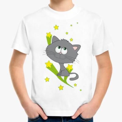 Детская футболка Space cat