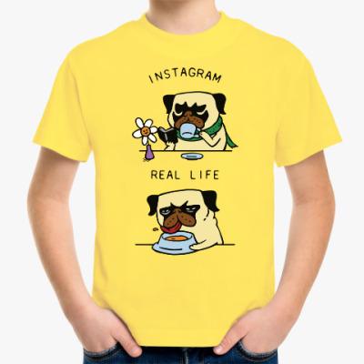 Детская футболка Инстаграм