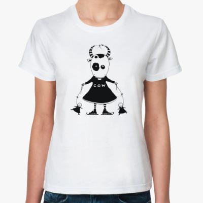Классическая футболка Коровка