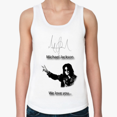 Женская майка Майкл Джексон