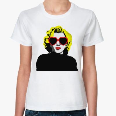 Классическая футболка Монро