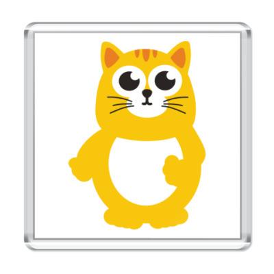 Магнит Жирный кот