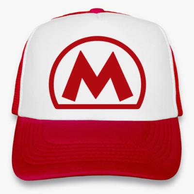 Кепка-тракер  Mario