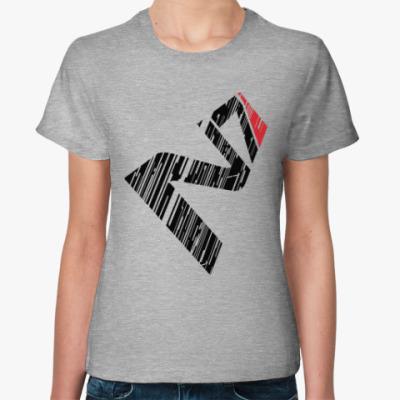 Женская футболка N7 Mass Effect