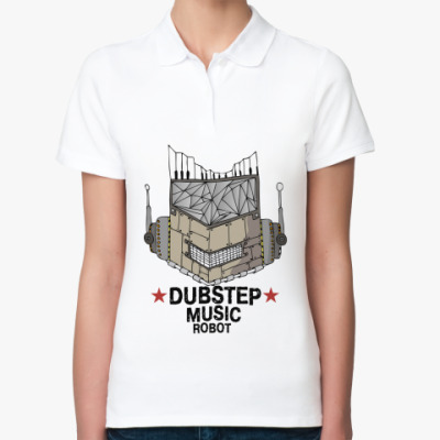 Женская рубашка поло Dubstep