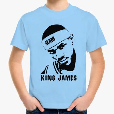 Детская футболка King James