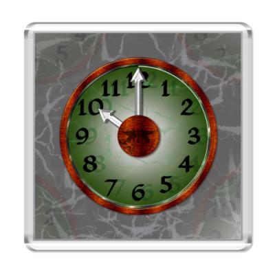 Магнит Таинственные Часы