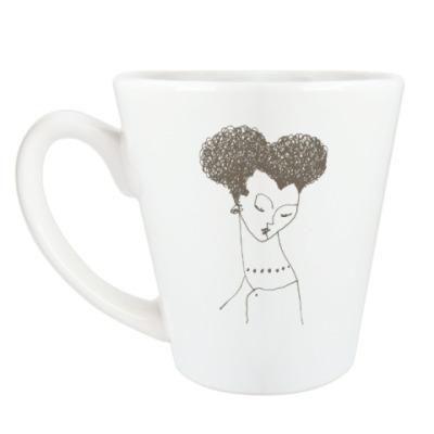 Чашка Латте Из серии «Умные и красивые»