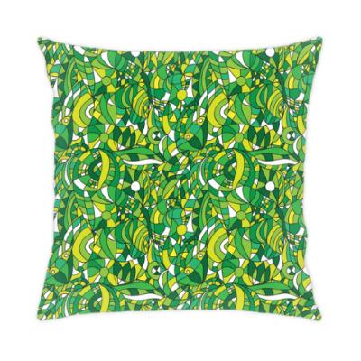 Подушка 'Зеленое лето'