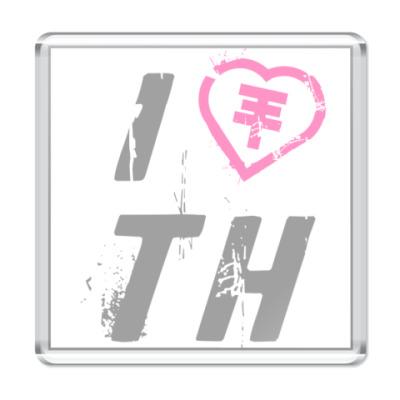Магнит I Love TH