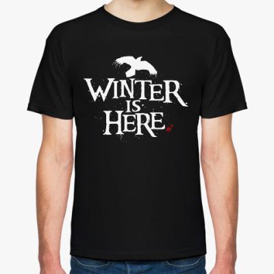 Футболка Игра престолов. Winter is here