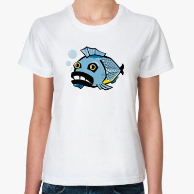 Классическая футболка fish
