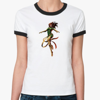 Женская футболка Ringer-T Феникс