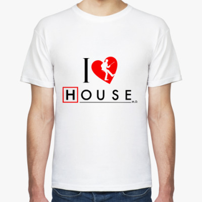 Футболка House love