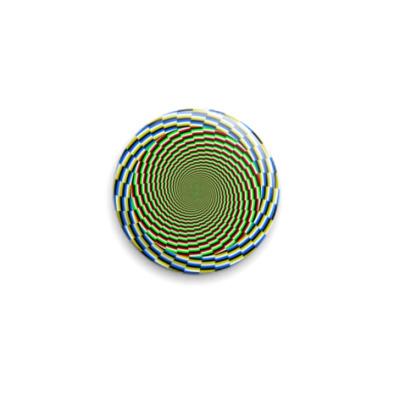 Значок 25мм  Psichodelic
