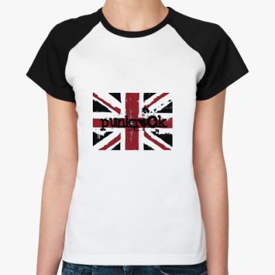 Женская футболка реглан BritPunk