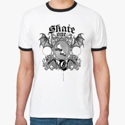 Футболка Ringer-T skate one