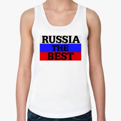 Женская майка Российская Федерация