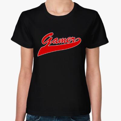 Женская футболка Gamer