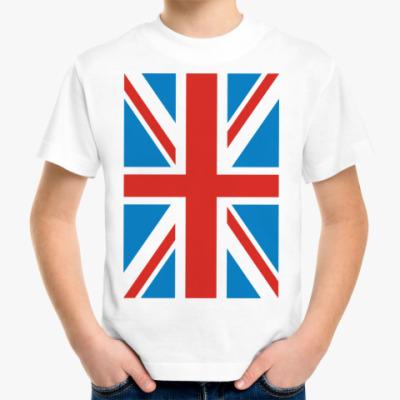 Детская футболка футболка Британский флаг