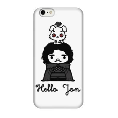 Чехол для iPhone 6/6s Hello Jon